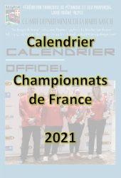 Couverture calendrier France