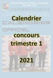 Couverture calendrier trim 1